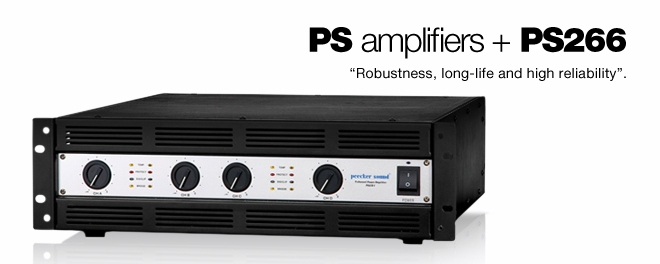 PS amplifiers + PS266